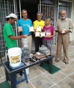 Making corn flour